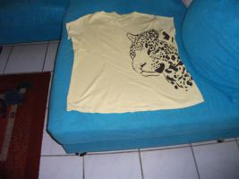 t-shirt mit tigerdruck