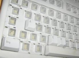 tastatur im GUTTENBERG-stil