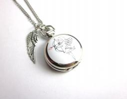 ' In the Arms of an Angel ' Kettenuhr