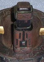 Foto 5 tibet oder maja holzschnitz aschenbecher