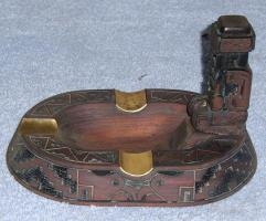 Foto 7 tibet oder maja holzschnitz aschenbecher