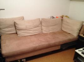 tolles Sofa, geeignet als Gästeschlafplatz