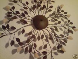 traumhaft schöne Deckenlampe mit Blütendesign