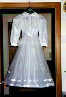traumhaftes weißes Kommunionskleid  Gr. 134-140 - Neupreis war :158€