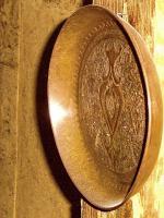 Foto 7 uralter kupfer reliefteller