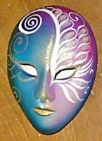 venezianische maskenschatulle