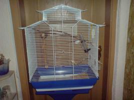 Foto 2 verkaufe großen vogelkäfig