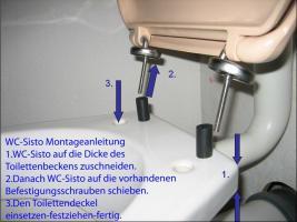 verrutschende klodeckel toilettendeckel klobrille wc sitz wc deckel in m lheim k rlich. Black Bedroom Furniture Sets. Home Design Ideas