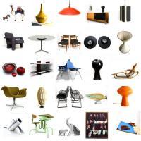 Foto 2 vintage designer mobel, leuchte, art und dekoration