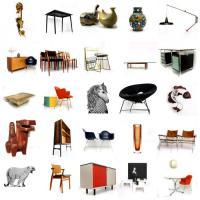 Foto 3 vintage designer mobel, leuchte, art und dekoration