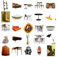 Foto 4 vintage designer mobel, leuchte, art und dekoration
