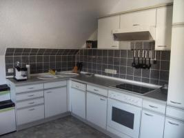 weiße Einbauküche