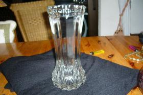 Foto 2 weiße Glasvase