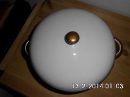 Foto 2 weiße Porzellan - Terrine
