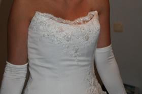 Foto 2 weißes Brautkleid