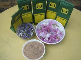 Foto 2 wilde Malvenbl�ten Tee, Rohkostqualit�t gesammelt im Naturpark