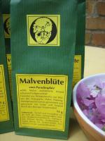 Foto 7 wilde Malvenblüten Tee, Rohkostqualität gesammelt im Naturpark