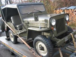 willys jeep cj3b in sehr guten zustand