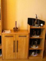 Foto 3 wohnzimmerschrank mit Vitriene+Licht