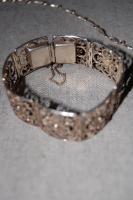 Foto 2 wunderschöner filigraner silberschmuck kette & armband VINTAGE!