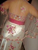 Foto 3 wunderschönes Braut, - Abend, - oder Ballkleid