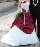 *wundersch�nes Braut-/Ballkleid von Miss Paris*
