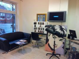 wunderschönes Friseurgeschäft  in Werne Kreis Unna ca. 60 m2 groß. Sehr schön eingerichtet. Mit Kunden und Mitarbeiter für 20.000 € anzubieten