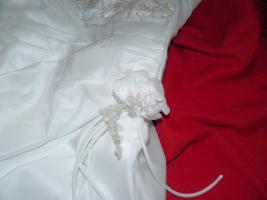 Foto 6 wunderschönes elfenbeinfarbenes Brautkleid