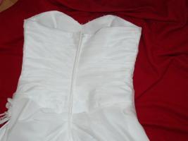 Foto 7 wunderschönes elfenbeinfarbenes Brautkleid