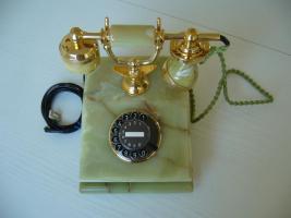 wunderschönes nostalgisches wählscheibentelefon