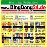 www.DingDong24.de - bringt Ihnen frisch belegte Br�tchen