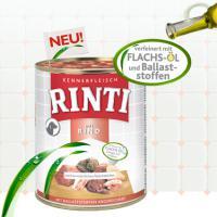 Foto 4 www.Tiershop4000.de Rinti Kennerfleisch 800g Ringpull-Dose