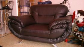Foto 3 zweier couch mit sessel