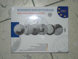 (08.06.19) Gebe ab Eurosilbermünzen der BRD (über 100 Stück)
