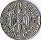 Foto 2 1 DM Bundesrepublik Deutschland '' 1956 F '' ! ! !