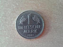 1 Deutsche Mark 1987