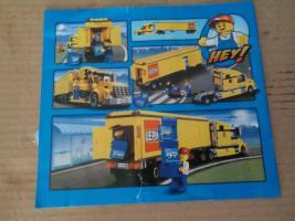 Foto 2 1 Modell Sattelschlepper POST mit Zubehör, lego kompartibel