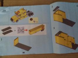 Foto 3 1 Modell Sattelschlepper POST mit Zubehör, lego kompartibel