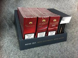 1 Packung Dannemann Cigarillos mit 20 Stück Cigarillos und Streichölzern