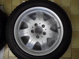 Foto 2 1 Satz Winterräder SLK R170 und R171 Mercedes Benz 7 Speichen Leichtschmiedefelgen 16 Zoll ( 7 x 16 ET 34 mm )
