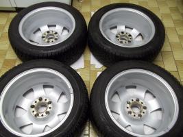 Foto 6 1 Satz Winterräder SLK R170 und R171 Mercedes Benz 7 Speichen Leichtschmiedefelgen 16 Zoll ( 7 x 16 ET 34 mm )