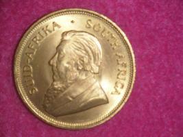 1 Unze Krügerrand 1971 Feingold 1 Oz Goldmünze