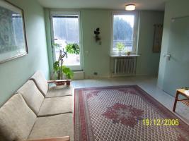 Flur zwischen der Wohnung und der Dachterrasse