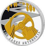 10 € Gedenkmünze BRD 2011, PP, feinstes Silber mit 24 Karat Gold