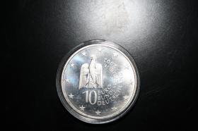 Foto 4 10 EUR Silbermü. 2002 in ST - Präge '' A '' 35 EUR