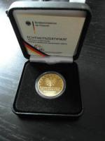 Foto 2 100 Euro Goldmünze Hansestadt Lübeck 2007 D aus 999,9 Gold