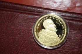100 Gold Dukaten - Polen 1621 -Sigismundis III. -Replik 32g 40mm in PP - nur 18 EUR + Porto