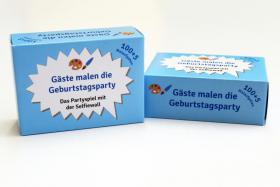 Foto 3 100 Karten mit Malaufgaben, Geburtstagsparty, Runder Geburtstag, Party, Spiel
