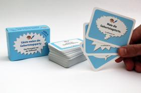 Foto 5 100 Karten mit Malaufgaben, Geburtstagsparty, Runder Geburtstag, Party, Spiel