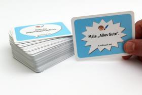 Foto 6 100 Karten mit Malaufgaben, Geburtstagsparty, Runder Geburtstag, Party, Spiel
